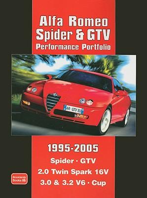 Alfa Romeo Spider & Gtv Performance Portfolio 1995-2005 By Clarke, R. M.